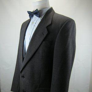 Yves Saint Laurent Blazer Houndstooth Type Wool